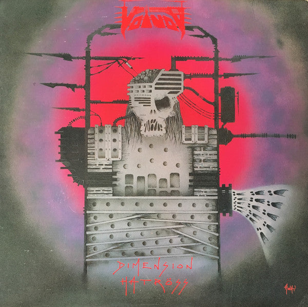 Voïvod ‎– Dimension Hatröss (1988) - New Vinyl 2017 Noise 180Gram Reissue (Remastered from Original Tapes) - Thrash / Speed Metal