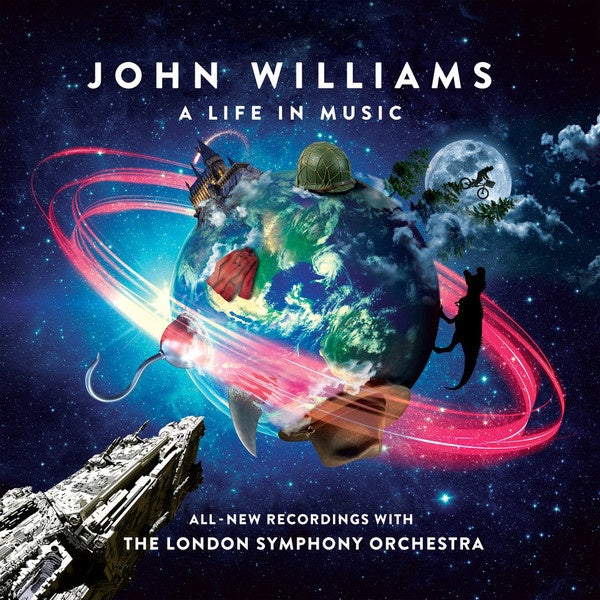 John Williams - A Life in Music - New Vinyl Lp 2018 Verve Compilation on 'Cosmic' Colored Vinyl - Soundtrack