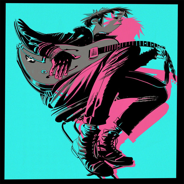 Gorillaz - The Now Now - New Vinyl Lp 2018 Warner Heavyweight Black Vinyl Pressing with Download - Alt-Rock / Trip Hop / Electronica