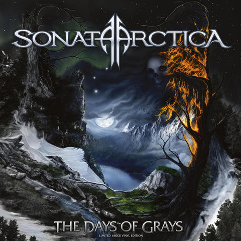 Sonata Arctica - The Days Of Grays - New 2 LP Record 2020 Back On Black 180 Gram Vinyl - Power Metal