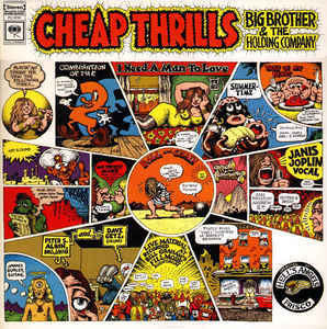 Big Brother & The Holding Company Featuring Janis Joplin - Cheap Thrills (1968) - VG+ Stereo USA (1970's Press) USA - Psychedelic Rock