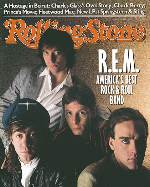 Rolling Stone Magazine - Issue No. 514 - R.E.M.