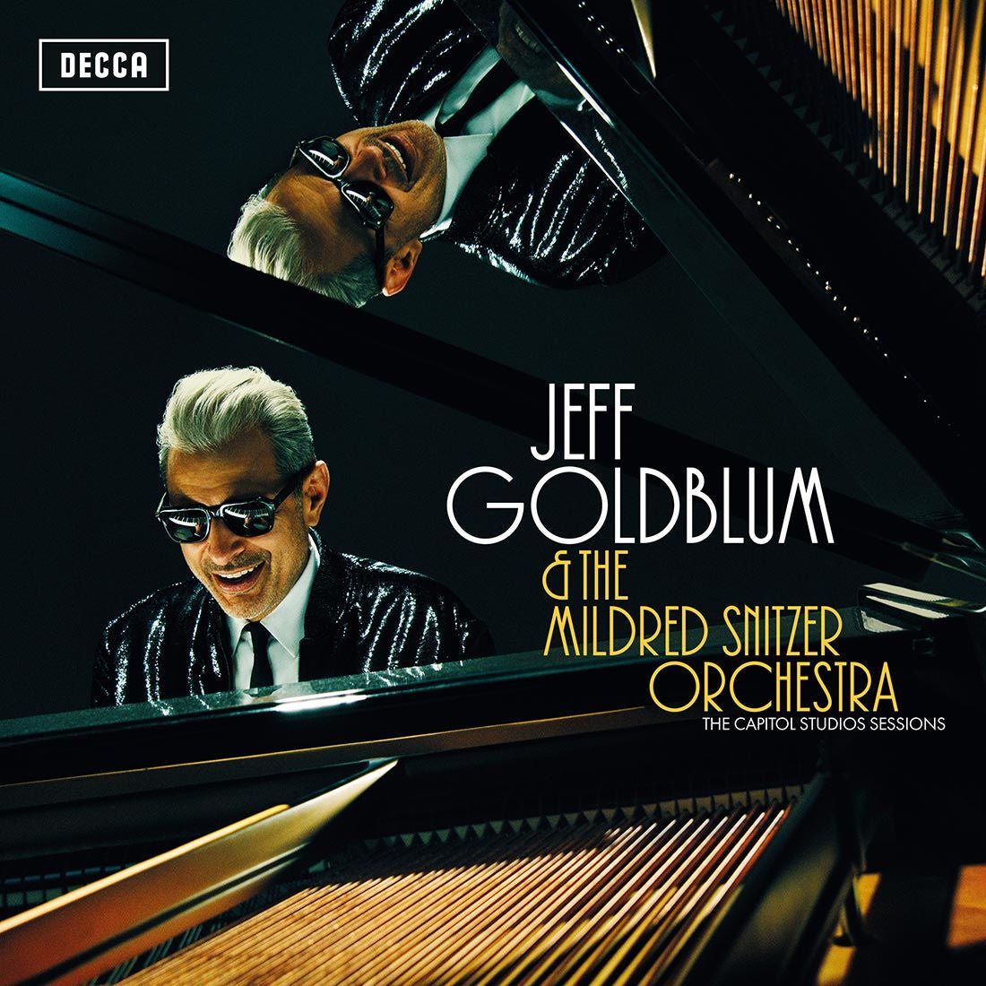 Jeff Goldblum & The Mildred Snitzer Orchestra - The Capitol Studios Sessions - New Vinyl 2 Lp 2018 Decca Import Pressing with Gatefold Jacket - Jazz / Standards