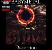 "Babymetal ‎– Distortion - New Vinyl 2018 Cooking Vinyl RSD Black Friday 12"" Exclusive on Red Vinyl (Limtied to 2000!) - Heavy Metal / J-Pop"
