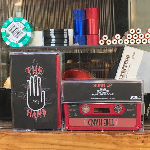 The Hand - Sunn EP -  New Cassette 2018 Red Tape - Detroit Stoner Rock