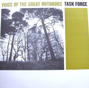 Task Force ‎– Voice Of The Great Outdoors EP - New Ep Record 2000 Low Life UK Import Vinyl - Hip Hop