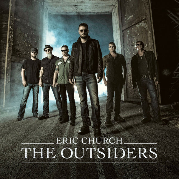 Eric Church - The Outsiders  - New Vinyl 2 Lp 2014 EMI Records Special Edition Repress with Bonus Tracks and Collector's Edition Poster - Country
