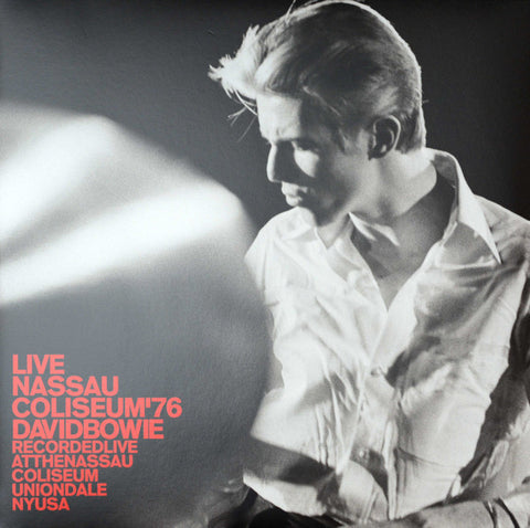 David Bowie ‎– Live Nassau Coliseum '76 -  New 2 Lp Record 2017 Europe Import 180 Gram Vinyl - Art Rock / Glam