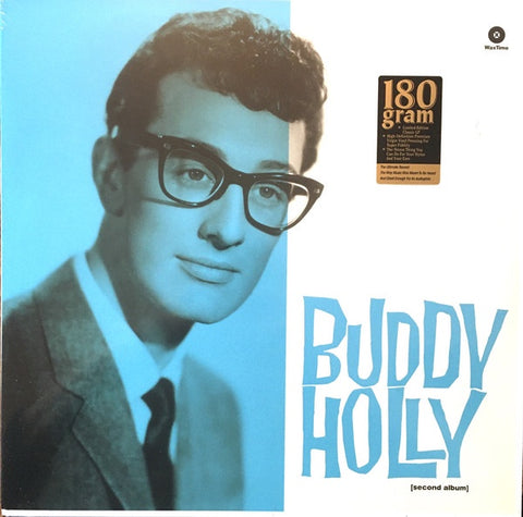 Buddy Holly ‎– Buddy Holly (1958) - New Lp Record 2015 WaxTime Europe Import 180 gram Vinyl - Rock & Roll / Rockabilly