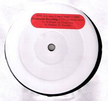 "2 Black Ninjas (Felix Da Housecat & K-Alexi) ‎– 80 Witnesses - Mint 12"" Single USA 1999 Test Press Promo - Chicago House"