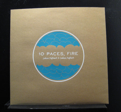 10 Paces, Fire - Lakes Refract & Lakes Reflect EP Mint- LPR-012 1st Vinyl Record