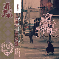 Darko the Super & Ialive - The Hell Hole Store - New Cassette 2016 Already Dead Tapes Limited Edition Gold Tape (Ltd to 100) - Rap / HipHop / Avant Garde