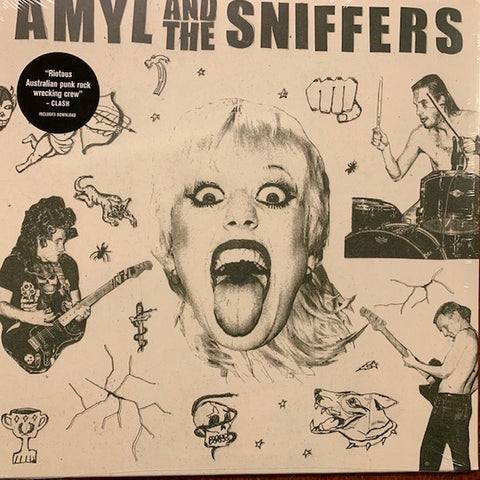 Amyl And The Sniffers ‎– S/T - New LP Record 2019 ATO USA Standard Black Vinyl - AUS Punk / Garage Rock