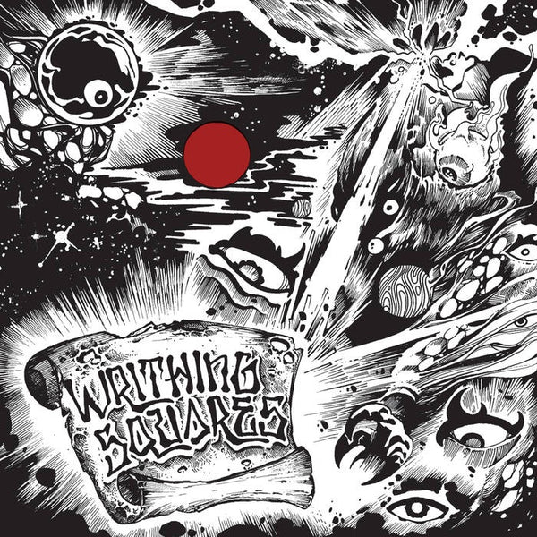 Writhing Squares ‎– Out Of The Ether - New Vinyl Lp 2019 Trouble in Mind Limited Red Vinyl Pressing - Space Rock / Punk Jazz