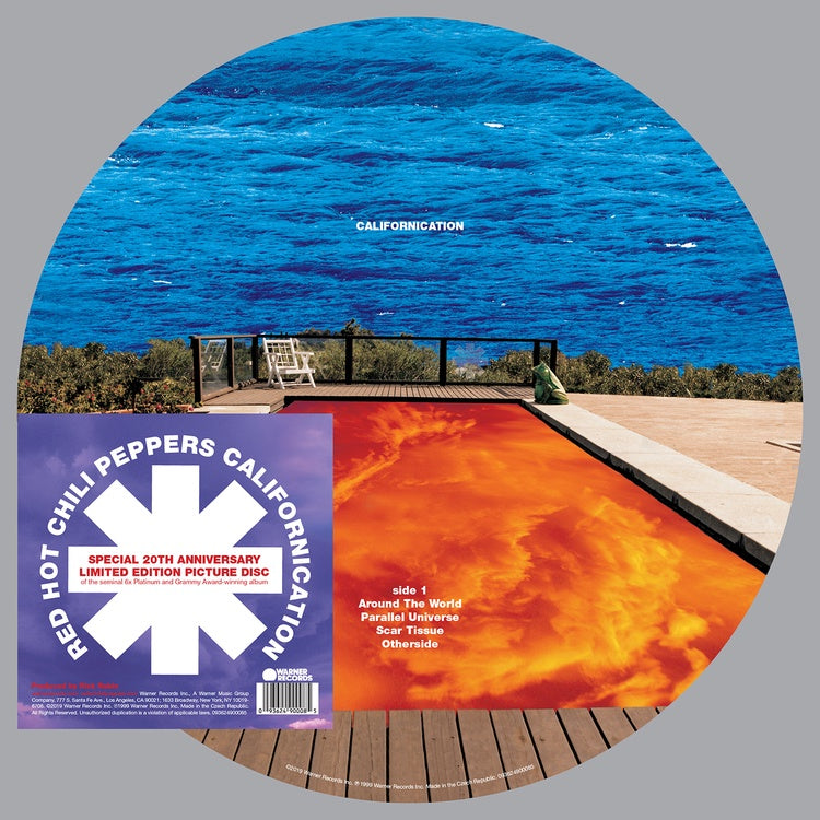 Red Hot Chili Peppers - Californication - New 2019 Record LP Special 20th Anniversary Limited Edition 2LP Vinyl Picture Disc - Rock