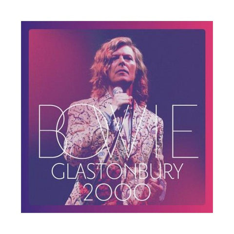 David Bowie - Glastonbury 2000 - New Vinyl 2018 Rhino 3 Lp - Pop / Rock