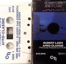 Hubert Laws - Afro-Classic - VG+ 1982 USA Cassette Tape - Jazz/Funk