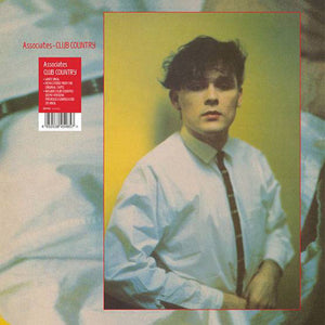 "Associates ‎– Club Country - New 12"" Single 2019 BMG Limited White Vinyl - Leftfield / New Wave / Synth-Pop"