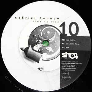 "Gabriel Ananda ‎- Time To Rise - VG+ 12"" Single Germany 2001 Vinyl Record - Techno"