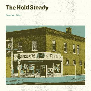 "The Hold Steady - Four on Ten - New 10"" Single Record Store Day Black Friday 2019 Frenchkiss USA RSD Exclusive Release Milky Clear Vinyl - Alternative Rock / Indie Rock"