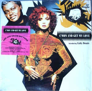 "D-Mob Introducing Cathy Dennis ‎- C'mon And Get My Love - VG+ 12"" Stereo 1989 USA - Electronic / House"