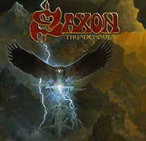 "Saxon - Thunderbolt (The Singles) - New 4x 7"" Box Set 2019 Militia Guard RSD First Release - Metal"