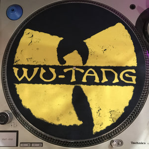 Shuga Records 2018 Limited Edition Vinyl Record Slipmat Wu-Tang