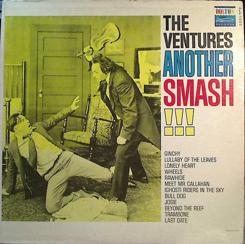 The Ventures ‎– Another Smash - VG Lp Record 1961 Dolton USA Mono Original Vinyl - Rock / Surf