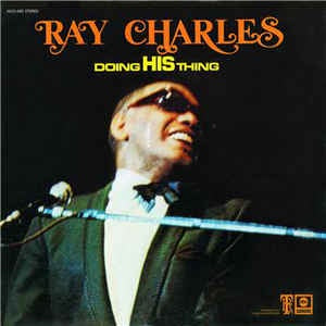 Ray Charles ‎- Doing His Thing - VG+ Stereo Vinyl ABC 1969 USA - Funk / Soul / Blues