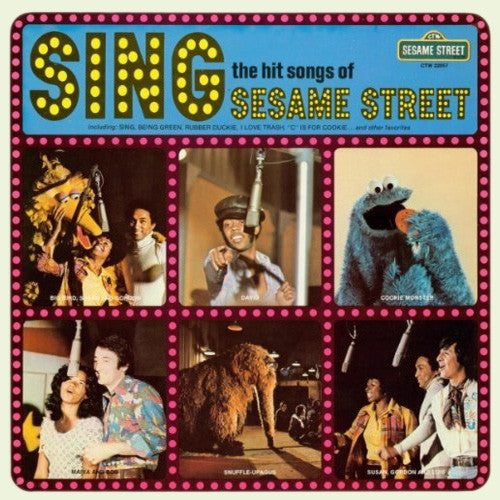 Sesame Street - Sing The Hit Songs Of Sesame Street - VG+ 1974 Stereo USA -