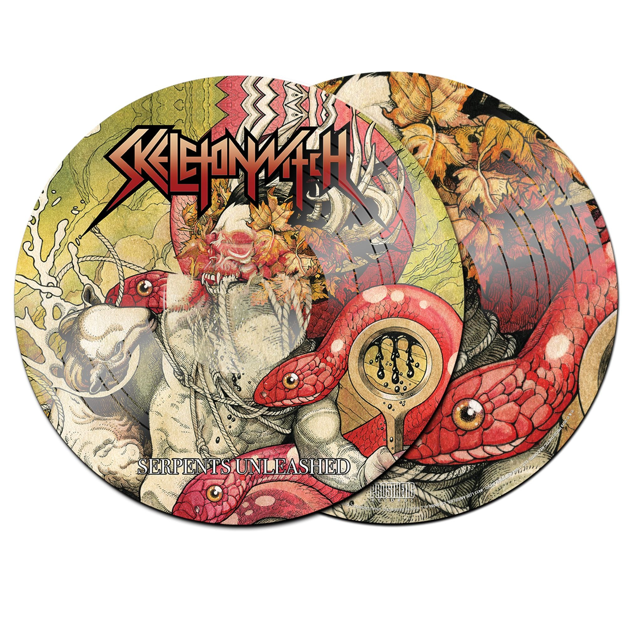 Skeletonwitch - Serpents Unleashed - New Lp 2019 Prosthetic Picture Disc Reissue (Limited to 300 Worldwide!) - Black Metal / Thrash