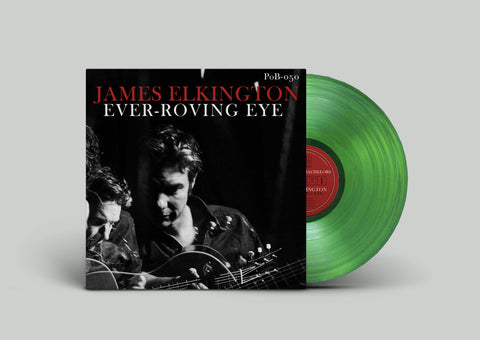 (Pre-Order) James Elkington – Ever-Roving Eye - New LP Record 2020 Paradise of Bachelors USA Green Glass Vinyl - Folk Rock