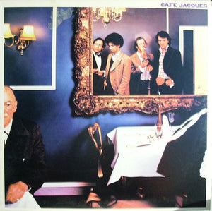 Café Jacques ‎– Round The Back - VG+ Lp Record 1977 USA Original Vinyl - Rock