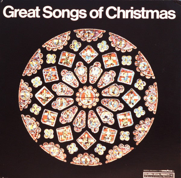 Bing Crosby /  ‎Connie Francis / Petula Clark / Lena Horne & More – Good Year Tires Promo - Great Songs Of Christmas - New Vinyl Record 1969 Stereo Original Press USA - Holiday