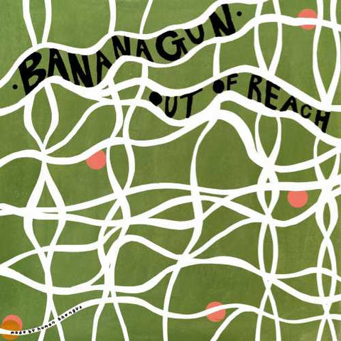 "Bananagun - Out Of Reach - New 7"" Single 2020 Full Time Hobby Limited Edition Vinyl -  Psychedelic Rock"