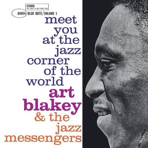 Art Blakey & The Jazz Messengers ‎– Meet You At The Jazz Corner Of The World (Volume 1) - New LP Record 2019 Blue Note Vinyl - Jazz / Hard Bop