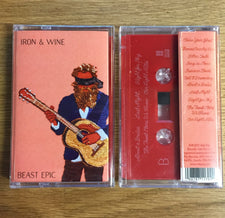 Iron & Wine ‎– Beast Epic - New Cassette 2017 Sub Pop Red Tape - Indie Folk / Rock