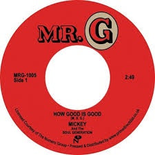 "Mickey And The Soul Generation ‎– How Good Is Good / Get Down Brother (1972) New 7"" Single Record Store Day UK 2020 Mr. G UK RSD Vinyl - Funk"