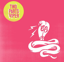 '68 - Two Parts Viper - New Vinyl 2017 Cooking Vinyl Indie Exclusive on 'Transparent Green' Vinyl - Alt-Rock / Post-Hardcore (sounds like Every Time I Die overdosing on Nirvana's Bleach and The White Stripes)