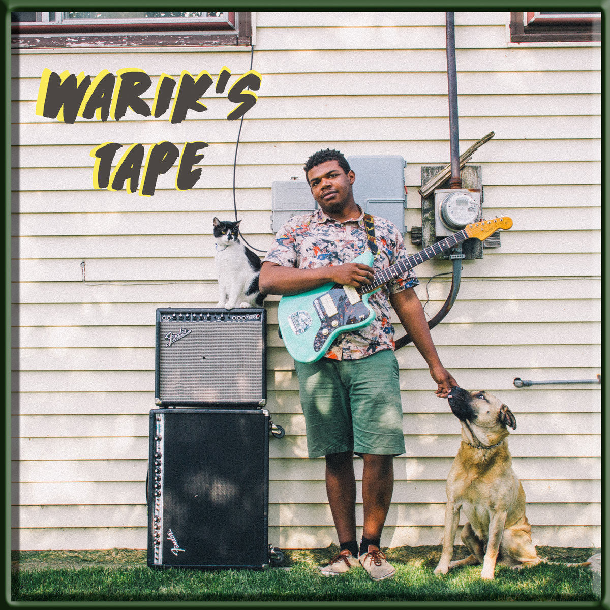 Warik - Warik's Tape - New Cassette 2016 Limited Edition of 100 Copies on Green-Tape - Chicago IL Lo-Fi / Surf-Psych! V Rad! free d/l at warik.bandcamp.com!