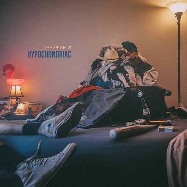 The Frights - Hypochondriac - New Vinyl Lp 2018 Epitaph 'Indie Exclusive' Pressing on Opaque Blue Colored Vinyl with Gatefold Jacket - Garage / Surf Punk