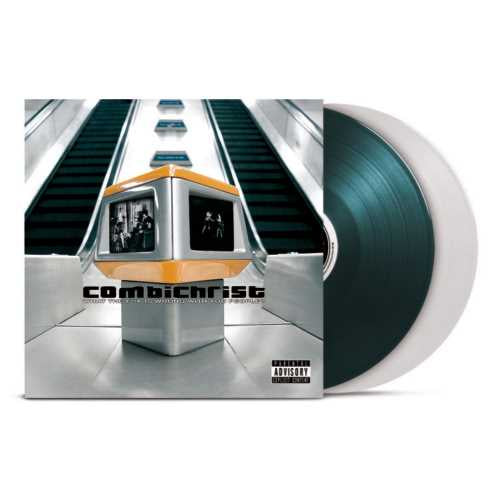 Combichrist — What The F**k Is Wrong With You People? - New 2LP Record 2019 Limited Edition Transparent/Green 180g Vinyl - Industrial Metal / Aggrotech