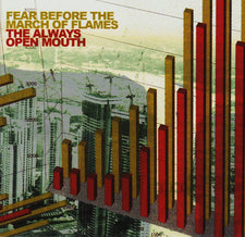 Fear Before the March of Flames - The Always Open Mouth - New Vinyl 2017 Equal Vision Records Gatefold 2-LP Reissue on 'Transparent Yellow and Red' Vinyl, Limited to 500! - Hardcore / Post-Hardcore