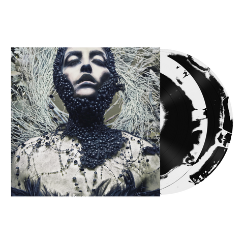 "Converge - ""Jane Live"" Ashley Rose Couture Edition - New Vinyl Record - 2017 Deathwish Inc 2LP Gatefold 1st Pressing on Black/White Mixed Vinyl - Metallic Hardcore"