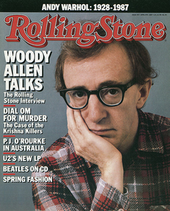 Rolling Stone Magazine - Issue No. 497 - Woody Allen