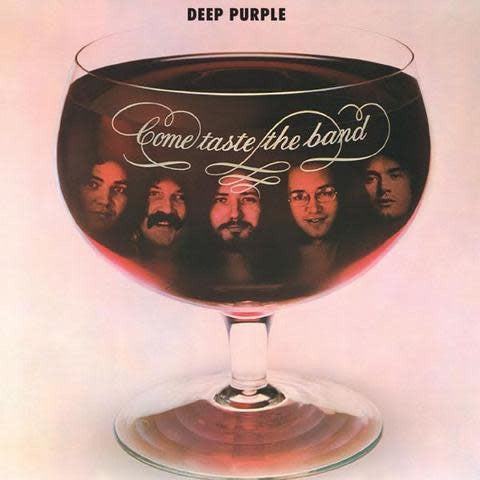 Deep Purple ‎– Come Taste The Band- New Lp Record 2019 Warner Rocktober USA Purple Vinyl - Classic Rock
