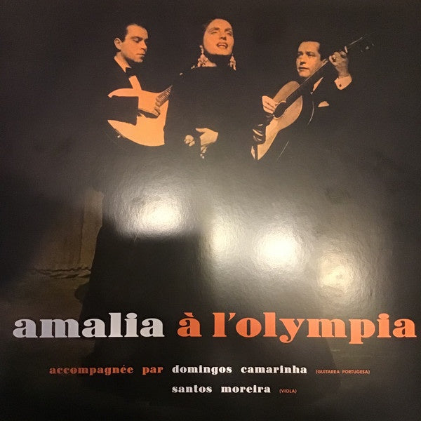 Amália Rodrigues ‎– Amalia À L'Olympia (1958) - New LP Record 2013 DOL Europe Import 180 gram Vinyl - World / Fado