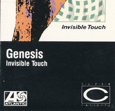 Genesis - Invisible Touch - Cassette 1986 Atlantic USA - Rock