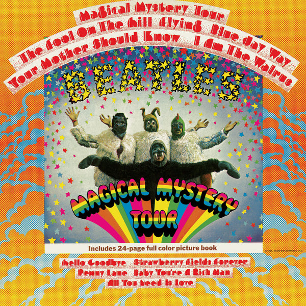 Beatles - Magical Mystery Tour - New Vinyl 2014 Apple / Universal Gatefold 2-LP 180gram MONO Reissue from Original Masters - Pop / Rock / Pop-Psych