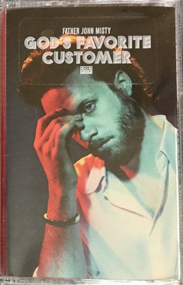 Father John Misty ‎– God's Favorite Customer - New Cassette 2018 Sub Pop Colored Tape - Indie Rock